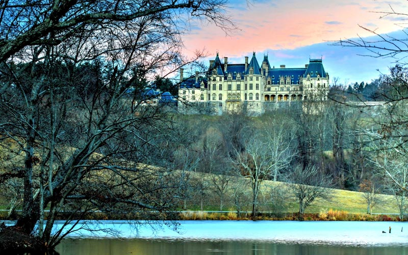 Historic Treasures The famed Biltmore Estate is one of many rich historical experiences in this area.